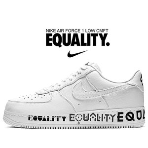 ナイキ エアフォース 1 CMFT NIKE AIR FORCE 1 LOW CMFT EQUALITY white/white-black aq2118-100 BHM メンズ スニーカー AF1 イクオリティ BLACK HISTORY MONTH|ltd-online
