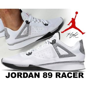NIKE JORDAN 89 RACER white/black-cement grey  レトロモ...