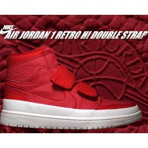 NIKE AIR JORDAN 1 RETRO HI DOUBLE STRAP gym red/gy...