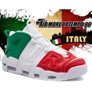 ナイキ エア モアアップテンポ QS NIKE AIR MORE UPTEMPO 96 ITALY QS university red/white av3811-600 スニーカー メンズ モアテン イタリア ミラノ|ltd-online