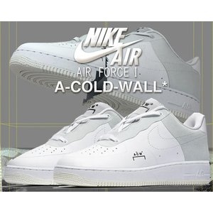 ナイキ エアフォース 1 ACW NIKE AIR FORCE 1 07 A-COLD-WALL white/black-light grey bq6924-100 スニーカー AF1 アコールドウォール ホワイト SAMUEL ROSS|ltd-online
