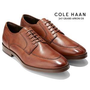 コールハーン ジェイ グランド エプロン オックスフォード COLE HAAN JAY GRAND APRON OX british tan c23779 ブラウン ビジネスシューズ 外羽根 Uチップ 革靴|ltd-online