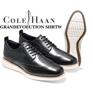 コールハーン COLE HAAN GRANDEVOLUTION SHRTW black/ivory メンズ 靴 ウィングチップ ビジネスシューズ ドレス カジュアル 冠婚葬祭 グランドエボリューション|ltd-online