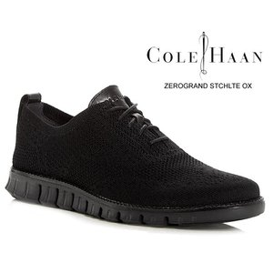 コールハーン ゼログランド スティッチライト オックスフォード COLE HAAN ZEROGRAND STCHLTE OX BLACK KNIT/BLACK c30416 ビジネス カジュアル メンズ 靴|ltd-online