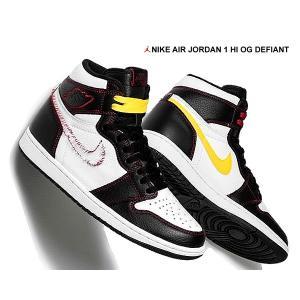 NIKE AIR JORDAN 1 HI OG DEFIANT black/tour yellow-...