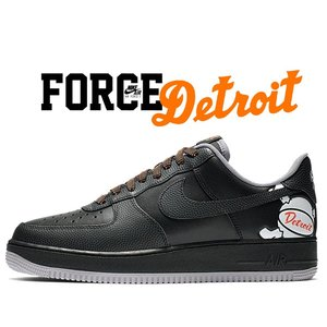 ナイキ エアフォース 1 ロー NIKE AIR FORCE 1 07 LV8 DETROIT AWAY black/black-atmosphere grey cd7789-001 スニーカー AF1 LOW デトロイト|ltd-online