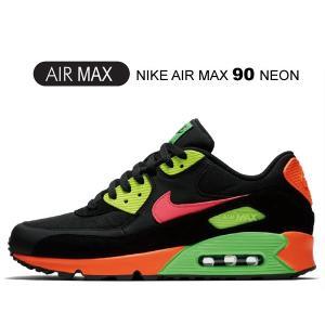 ナイキ エアマックス 90 ネオン NIKE AIR MAX 90 NEON black/racer...