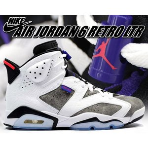 "NIKE AIR JORDAN 6 RETRO LTR ""FLINT"" black/noir-con..."