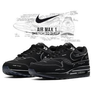 ナイキ エアマックス 1 NIKE AIR MAX 1 SKETCH TO SHELF black/...