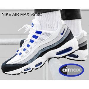 ナイキ エアマックス 95 NIKE AIR MAX 95 SC white/racer blue-anthracite cj4595-100 スニーカー グラデーション AM95|ltd-online