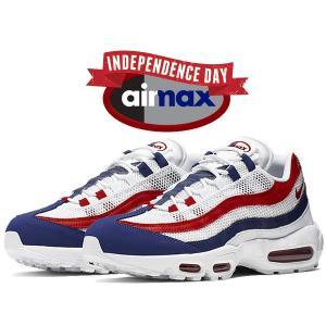 ナイキ エアマックス 95 NIKE AIR MAX 95 INDEPENDENCE DAY white/gym red-deep royal blue cj9926-100 独立記念日 USA|ltd-online
