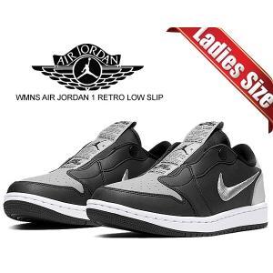 ナイキ ウィメンズ エアジョーダン 1 ロー スリップ NIKE WMNS AIR JORDAN 1 RETRO LOW SLIP SE SHADOW black/medium grey-white AJ1 スニーカー ltd-online