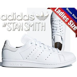 アディダス adidas スタンスミス レディース ホワイト 白 adidas STAN SMITH ftwwht/ftwwht/ftwwht スニーカー メンズ レディース ホワイト レザー|ltd-online