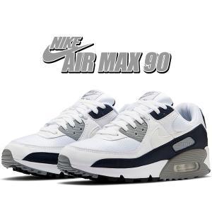 ナイキ エアマックス 90 NIKE AIR MAX 90 white/wht-particle g...