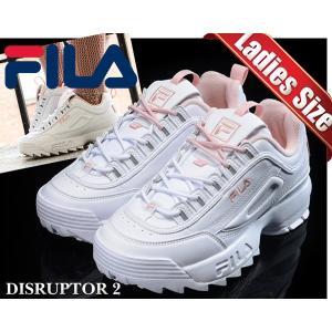 フィラ ディスラプター2 レディース FILA DISRUPTOR 2 white/pink FS1HTA1074X-WPK スニーカー ホワイト ピンク DAD SHOES レディース ウィメンズ|ltd-online
