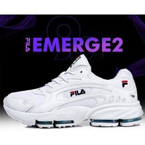 フィラ エマージュ 2 99 FILA EMERGE 2 99 WHITE スニーカー ホワイト ランニングシューズ DAD SHOES SNEAKER ダッド シューズ メンズ レディース uglyshoes|ltd-online