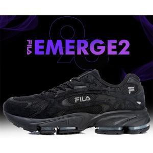 フィラ エマージュ 2 99 FILA EMERGE 2 99 BLACK スニーカー ブラック ランニングシューズ DAD SHOES SNEAKER ダッド シューズ メンズ レディース uglyshoes|ltd-online