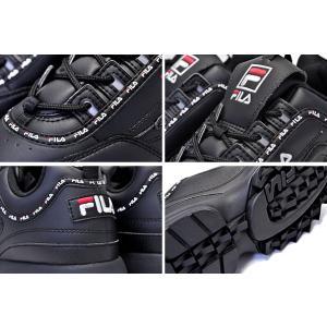フィラ ディスラプター 2 FILA DISRUPTOR 2 TAPEYTAPE BLACK FS1HTB1092X BBK 厚底 スニーカー メンズ レディース ウィメンズ ダッドシューズ ブラック|ltd-online|04