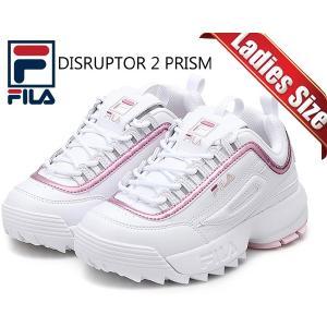 フィラ ディスラプター2 レディース FILA DISRUPTOR 2 PRISM WHITE/PINK fs1htb1801x wpk スニーカー ダッドシューズ ホワイト プリズム ピンク DAD SHOES|ltd-online