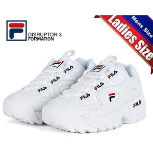 フィラ ディスラプター 3 フォーメーション FILA DISRUPTOR 3 FORMATION WHITE FS1HTB1831X WWT スニーカー 厚底 ホワイト メンズ レディース|ltd-online