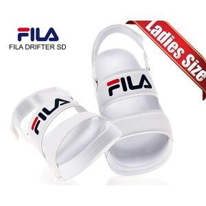 フィラ ドリフター レディース サンダル FILA DRIFTER SD WHITE fs1sib2001x-wwt ホワイト スポーツサンダル ストラップサンダル|ltd-online