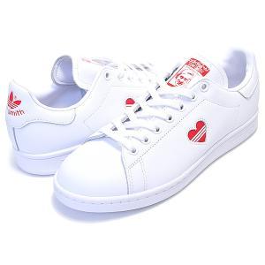 アディダス スタンスミス ウィメンズ adidas STAN SMITH W ftwwht/actred/ftwht g27893 レディース ガールズ スニーカー ホワイト レッド ハート|ltd-online|02