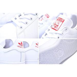 アディダス スタンスミス ウィメンズ adidas STAN SMITH W ftwwht/actred/ftwht g27893 レディース ガールズ スニーカー ホワイト レッド ハート|ltd-online|04