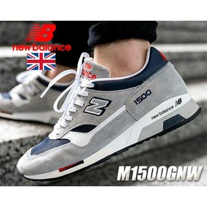 ニューバランス 1500 UK NEW BALANCE M1500GNW Made in England スニーカー NB 1500 30th Anniversary GRAY NAVY|ltd-online