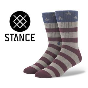 スタンスソックス STANCE THE FORUTH RED m310bthe-red 靴下 メンズ|ltd-online