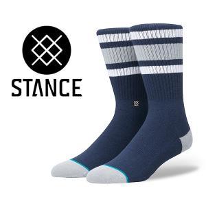 スタンスソックス STANCE BOYD 4 NAVY m556a18boy-nvy 靴下 メンズ ネイビー|ltd-online
