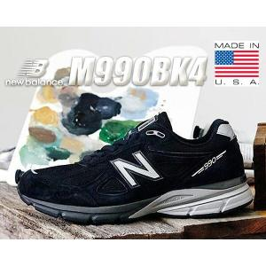 NEW BALANCE M990BK4 MADE IN U.S.A.  NEW BALANCEからヘ...