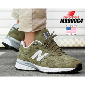 NEW BALANCE M990CG4 MADE IN U.S.A. COVERT GREEN   ...