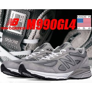 NEW BALANCE M990GL4 MADE IN U.S.A.  NEW BALANCEからヘ...