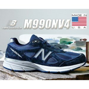 NEW BALANCE M990NV4 MADE IN U.S.A.  NEW BALANCEからヘ...