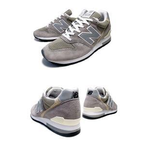ニューバランス M996 NEW BALANCE M996GY MADE IN U.S.A. NB 996 GREY グレー スニーカー メンズ USA カジュアル GRAY 靴|ltd-online|03