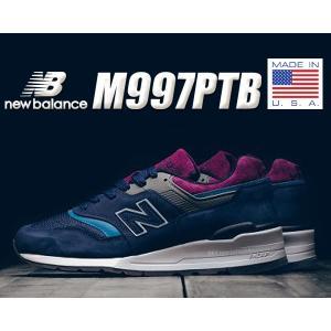ニューバランス M997 NEW BALANCE M997PTB MADE IN U.S.A. スニーカー NB メンズ 靴 997 Winter Peaks Northern Lights|ltd-online