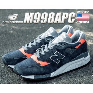 ニューバランス NEW BALANCE 998 スニーカー NEW BALANCE M998APC MADE IN U.S.A. NB 998 APC USA メンズ ランニング カジュアル|ltd-online