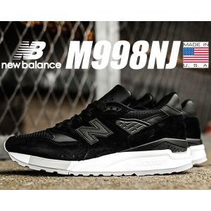 ニューバランス 998 NEW BALANCE M998NJ MADE IN U.S.A. スニーカー NB 998 ブラック スウェード|ltd-online