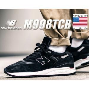 ニューバランス 998 NEW BALANCE M998TCB MADE IN U.S.A. メンズ スニーカー ブラック NB 998 TCB|ltd-online