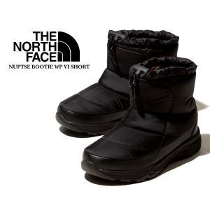 ノースフェイス ヌプシブーツ 6 ショート THE NORTH FACE NUPTSE BOOTIE WP VI SHORT BLACK/BLACK nf51874 撥水 ウォータープルーフ ブラック ウィンターブーツ|ltd-online
