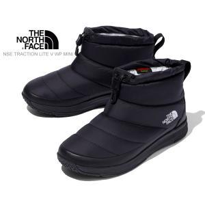 ノースフェイス ヌプシブーツ ミニ THE NORTH FACE NSE TRACTION LITE V WP MINI TNF BLACK/BLACK nf51984-kk トラクションライト 5 ミニ ブーツ 撥水|ltd-online