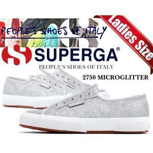 スペルガ スニーカーSUPERGA 2750 MICROGLITTERW GREY SILVER レディース シルバー 銀 グリッター 靴 シューズS00C1P0-031|ltd-online