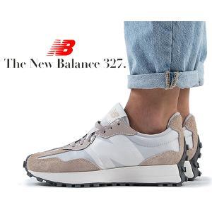 ニューバランス ウィメンズ 327 NEW BALANCE WS327SFA WHITE BIRCH...