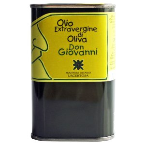 新エキストラバージン・オリーブオイル「ドン・ジョヴァンニ」250ml(缶入り)|lucania-arti