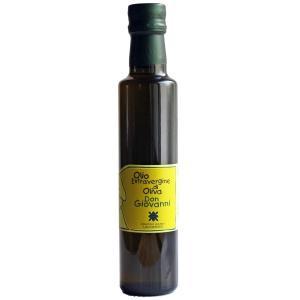 新エキストラバージン・オリーブオイル「ドン・ジョヴァンニ」250ml(ビン入り)|lucania-arti