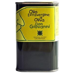 セール! エキストラバージン・オリーブオイル「ドン・ジョヴァンニ」250ml(缶入り)|lucania-arti