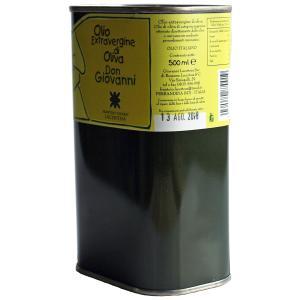 セール!エキストラバージン・オリーブオイル「ドン・ジョヴァンニ」500ml(缶入り)|lucania-arti|03
