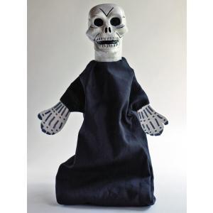 ナポリの幸運のお守り!どくろの指人形|lucania-arti