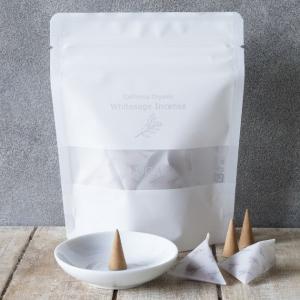 LUCAS エクストラ・ホワイトセージ 浄化用 お香 (インセンス) 10個入り 日本製・香料不使用