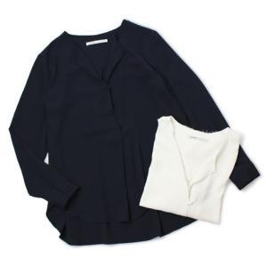 【国内正規品】【LADIES】S/S 新作 upper hights ( アッパーハイツ ) / THE SHIRT 23 / ノーカラー シャツ|luccicare